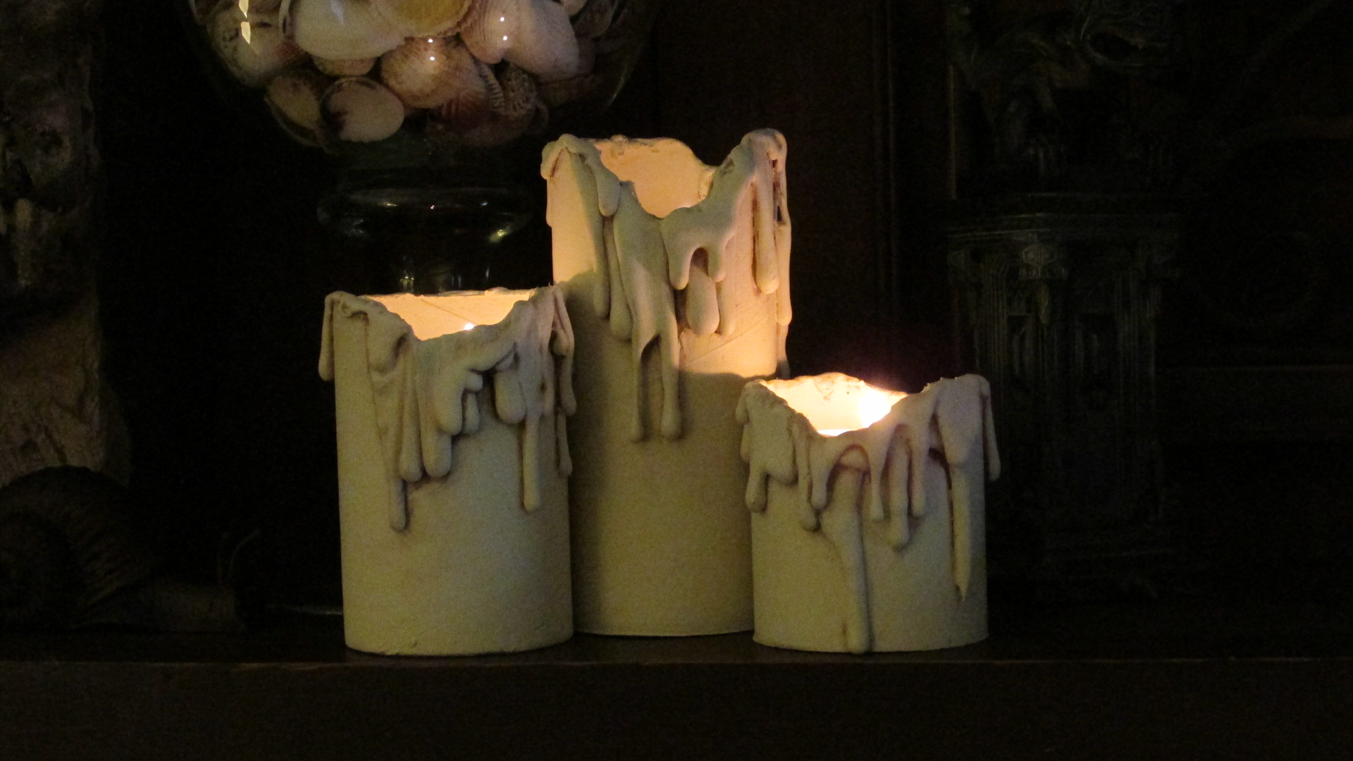 DIY Drippy Candles