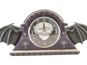 Haunted Mansion Bat Wing Clock