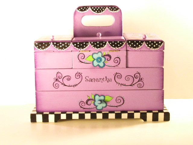 Personalized Sewing Box