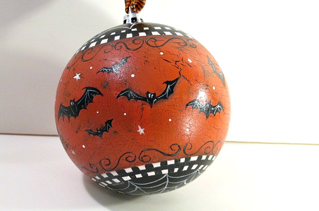 Batty Halloween Ornament