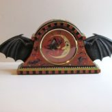 A New Bat Wing Mantel Clock