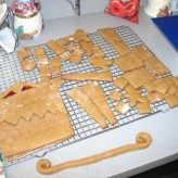 Our Version of The 2011 Disneyland Haunted Mansion Gingerbread House (Part One)