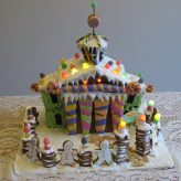Our Version of The 2011 Disneyland Haunted Mansion Gingerbread House  (Part 2 – The Reveal)